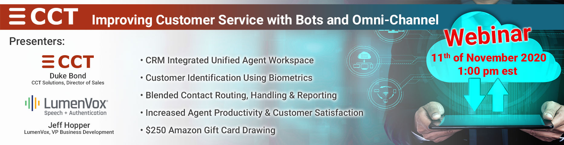 Improving Customer Service with Bots and Omni-Channel